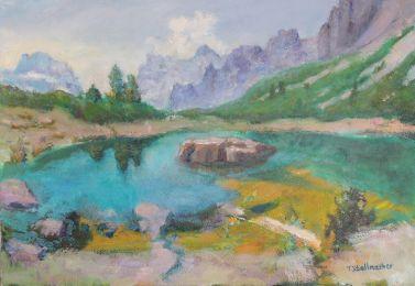 See in den Dolomiten